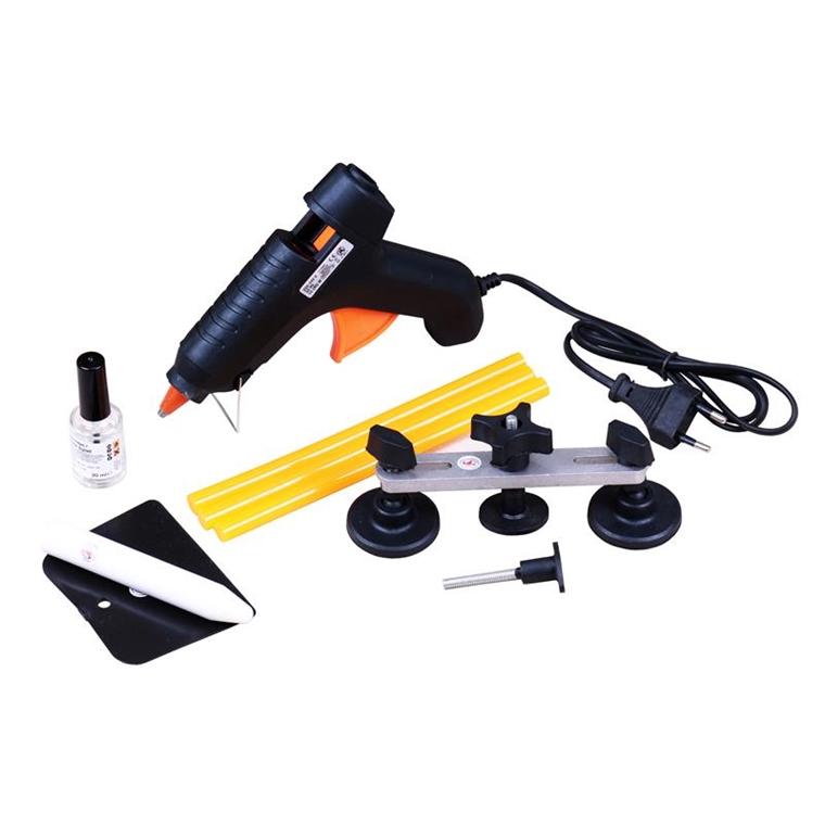 dellen werkzeug karosserie dellen reparatur set ausbeulwerkzeug ausbeulset 8057 ebay. Black Bedroom Furniture Sets. Home Design Ideas