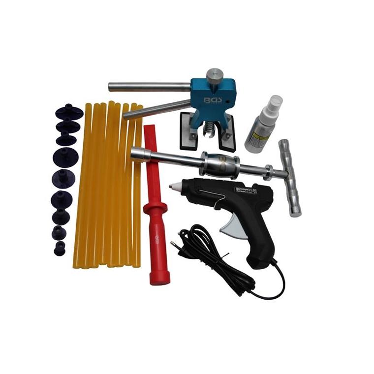 dellen werkzeug karosserie dellen reparatur set ausbeulwerkzeug ausbeulset 865 ebay. Black Bedroom Furniture Sets. Home Design Ideas