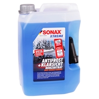 SONAX Xtreme AntiFrost&KlarSicht Konzentrat 2x5L mit kostenlosem Felgenreiniger 750ml