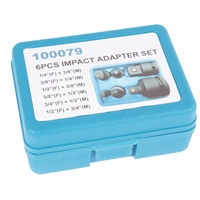 TECPO Adapter Satz, Kraft-Ausführung, 6 Teilig