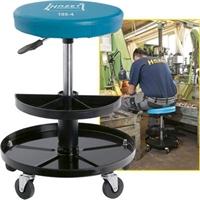 Hazet Arbeitssitz Rollstuhl, pneumatisch