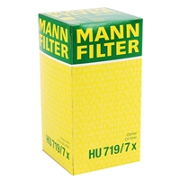 MANN-FILTER Ölfilter + Castrol 5W-30 Edge Longlife, 5L