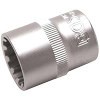 Steckschlüssel Einsatz 20 mm Vielzahn 1/2 Zoll Torx Werkzeug 6-Kant 12-Kant Nuss