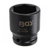 """BGS Spezial Steckschlüssel-Einsatz 32 mm 1"""" Zoll Nuss aus ChrMo Werkzeug Stahl"""