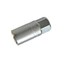 Zündkerzen-Einsatz, matt verchromt, 12,5 (1/2) Antrieb, SW 21 mm