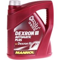 MANNOL ATF Öl Dexron III Automatik Getriebeöl Servoöl, 4 Liter
