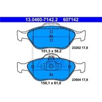ATE Bremsbelagsatz Mazda & Ford vorne