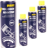 MANNOL 9991 Molibden Additive, 3x 300 ml