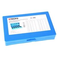 TECPO O-Ring Gummi Dichtung Sortiment 419-teilig