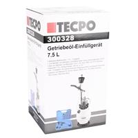 TECPO Getriebeöl-Einfüllgerät, Öleinfüllgerät 7.5 L, 15 Adapter
