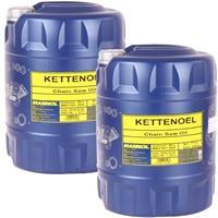 Mannol Kettenöl 2x20 Liter