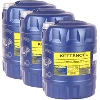 Mannol Kettenöl 3x20 Liter
