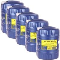 Mannol Kettenöl 5x20 Liter