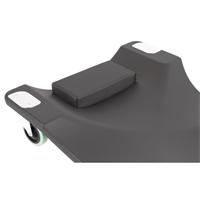 TECPO KFZ Werkstattrollbrett Rollliege + Rollsitz 360° drehbar