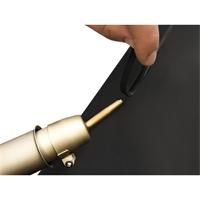 Kunststoffschweißdraht PP, schwarz, 425x1.60x6.80 mm, 27-teilig