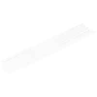 Kunststoffschweißdraht PP, weiß, 425x1.60x6.80 mm, 27-teilig