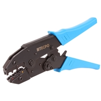 TECPO Kabelschuh- Cripzange 0,5-6 mm für isolierte Kabelverbinder