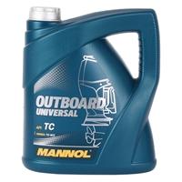 Mannol OUTBOARD UNIVERSAL 2-takt Motor-Öl Jet Ski, 4 Liter