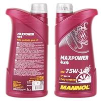 Mannol MAXPOWER 4x4, 75W-140 API GL, 1 Liter