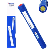 Berner Handlampe LED Pen Light 7+1 Micro USB