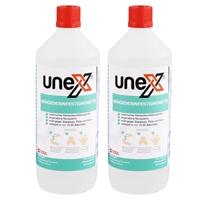 UNEX Hände-Desinfektionsmittel, 2x1 Liter