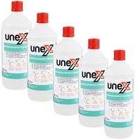 UNEX Hände-Desinfektionsmittel, 5x1 Liter