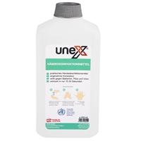 2x500 mL UNEX Hände-Desinfektionsmittel