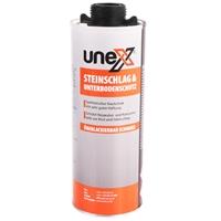 UNEX Steinschlag & Unterbodenschutz 2x1000 ml für Druckluftpistole