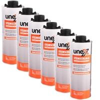 UNEX Steinschlag & Unterbodenschutz 6x1000 ml für Druckluftpistole