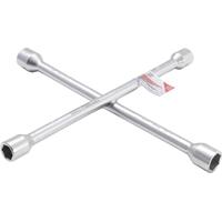Radwechselwerkzeug Set : Drehmomentschlüssel + Schoneinsatz + Radkreuz +Unterstellböcke + Mechaniker-Handschuhe