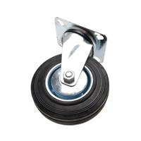 Lenkrolle 125 mm, mit Anschraubsockel