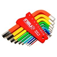 Inbus® Schlüssel Satz 9-tlg. 1.5 bis 10 mm  Innen Sechskant