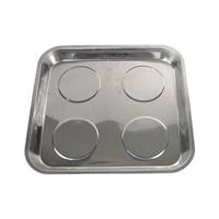 INOX Magnet-Halter-Tablette-Teller-Schale / Magnetschale 265x290 mm BGS Werkzeug