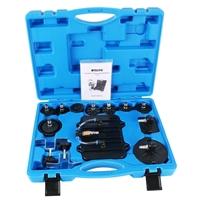 TECPO Druckluft Bremsen Entlüftungsgerät mit Bremsflüssigkeitstester