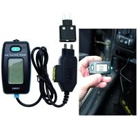 Digitales Amperemeter für Sicherungskontakt
