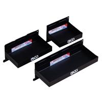 Magnet-Ablagen-Set 3-tlg., 150-210-310 mm
