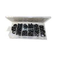 Gummi-Durchgangstüllen-Satz Gummitüllen Durchgangs Tüllen Sortiment 180-tlg. BGS