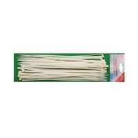 50-tlg. Kabelbinder Sortiment Weiß 4,8 x 300 mm Kabel-Binder BGS aus Nylon