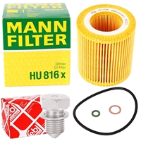 Mann Ölfilter + BMW Motoröl Twin Power Turbo 5W30 6L