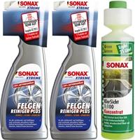 SONAX Xtreme FelgenReiniger PLUS + Klarsicht Konzentrat