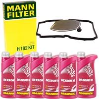 Mann Getriebefilter + 7L Getriebeöl