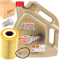 Castrol 5W-30 EDGE TITANIUM FST 5 Liter + Original VAG Filter03L115562