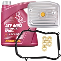 Hydraulikfiltersatz + ATF AG52, 4 Liter