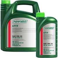 FANFARO 5W-30 API SN CF VW 504.00 507.00 BMW LL-04 MB 229.51 , 6 Liter