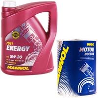 Mannol 5W-30 ENERGY 5 Liter + Motor Doktor 350ml