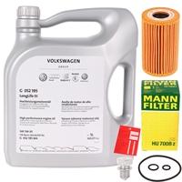 Mann Ölfilter + VAG Motor-Öl 5W-30 Longlife III 3, 5 Liter