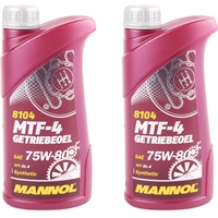 MANNOL MTF-4 Getriebeoel 75W-80 API GL-4, 2 Liter