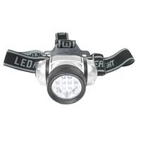LED Lampe Stirnlampe mit 12 LED Bergsteiger leuchte Kopflampe Stirnleuchte BGS