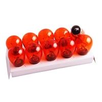 10 Stück Blinkerbirnen Orange 12V 21W BA15S Glühbirnen