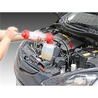 Ölspritzpumpe mit Ablassfunktion, Spritze 350ml, Flasche 1L